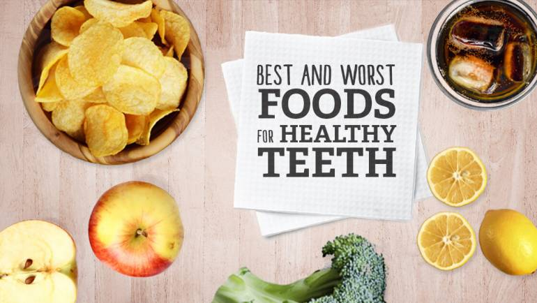 The Worst and Best Foods For Your Teeth & Gums